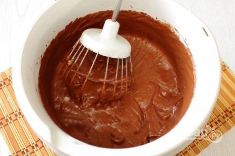 Бисквит с какао порошком и сметаной - фото шаг 4