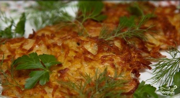 Оладьи из картофеля - фото шаг 6