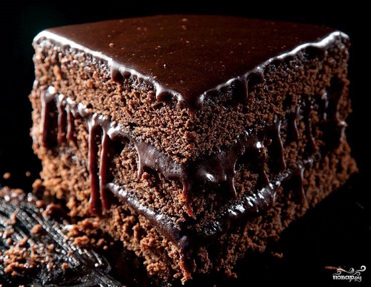 """Рецепт Ромовый шоколадный торт """"Мокко"""""""