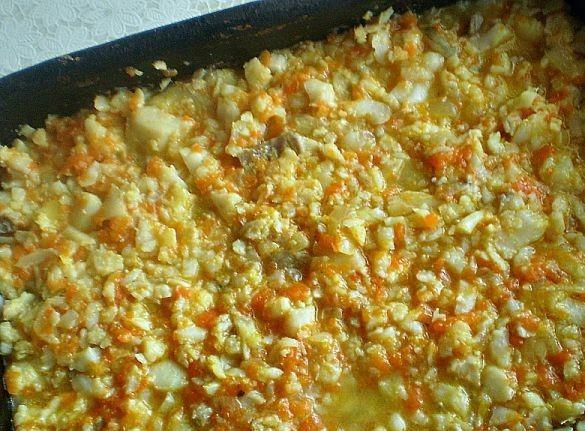 Рыбная запеканка с рисом - фото шаг 2