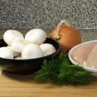 Рецепт Курица с грибным соусом