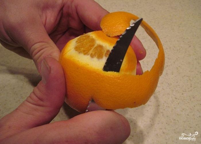 Апельсиновая настойка на самогоне - фото шаг 1