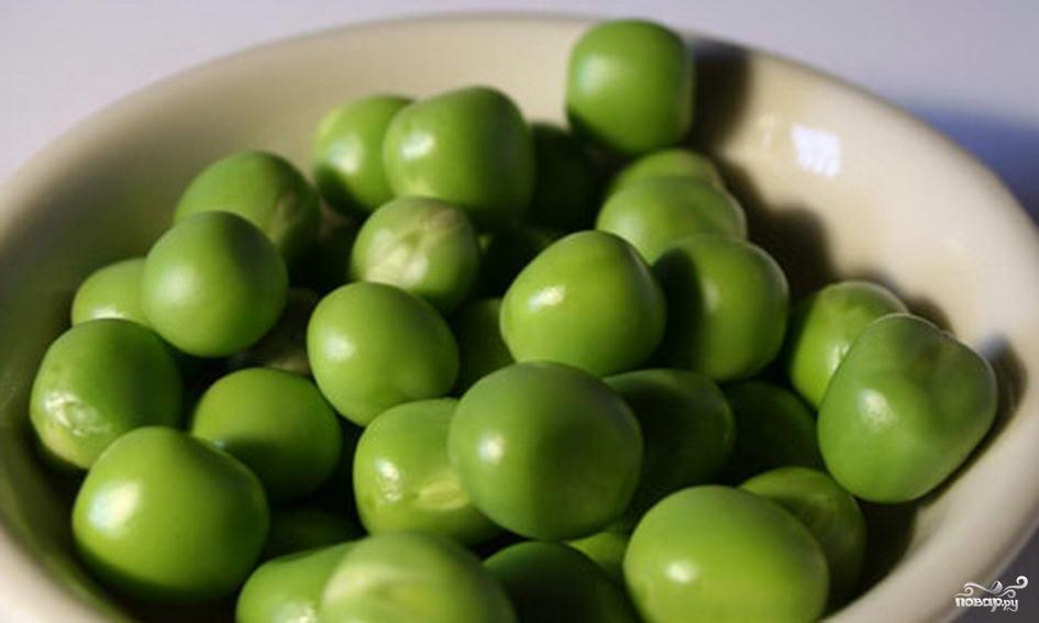 Рецепт Зеленый горошек консервированный