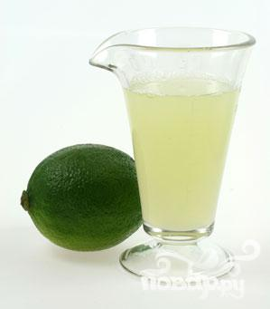 Витаминный напиток из малины и лайма - фото шаг 3