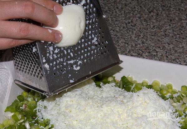 Салат из рыбных консервов с рисом - фото шаг 6