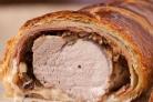 """Мясо """"Веллингтон"""" со свининой"""