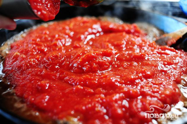 Макароны Ракушки с сыром и томатным соусом - фото шаг 3