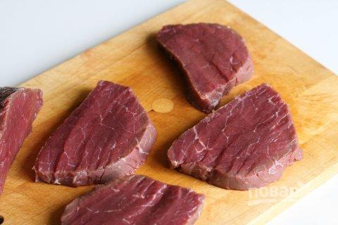Лангет из говядины в мультиварке - фото шаг 1