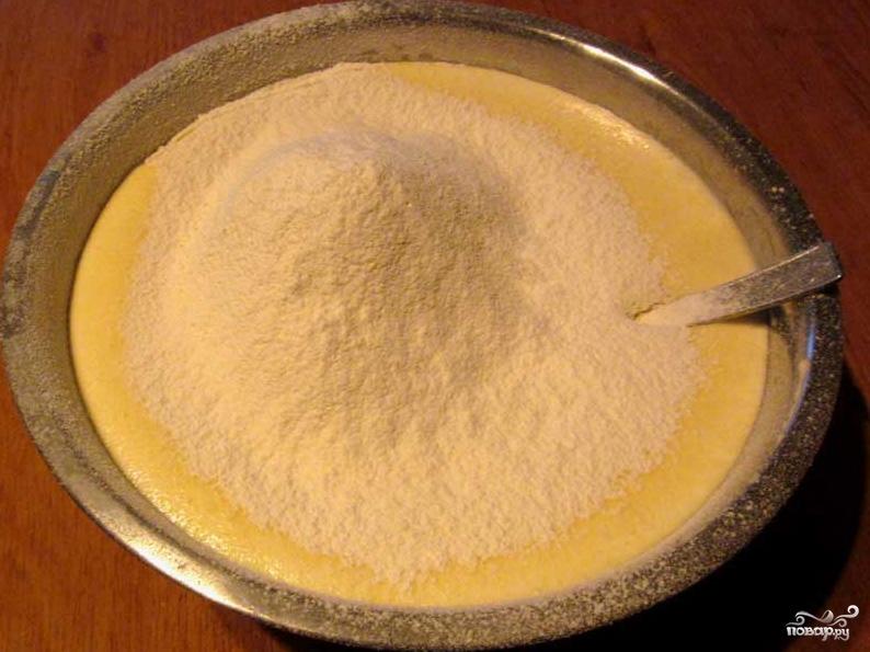 Бисквитное тесто с маслом - фото шаг 3