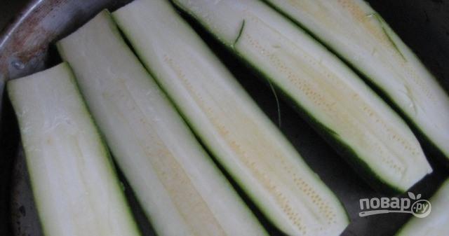 Печеные кабачки в духовке - фото шаг 1