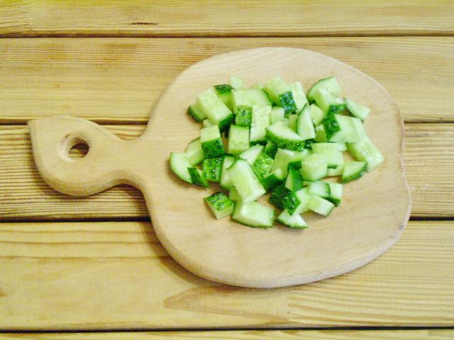 Салат к шашлыку - фото шаг 4