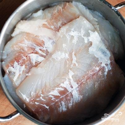 Суп из соленой трески - фото шаг 1