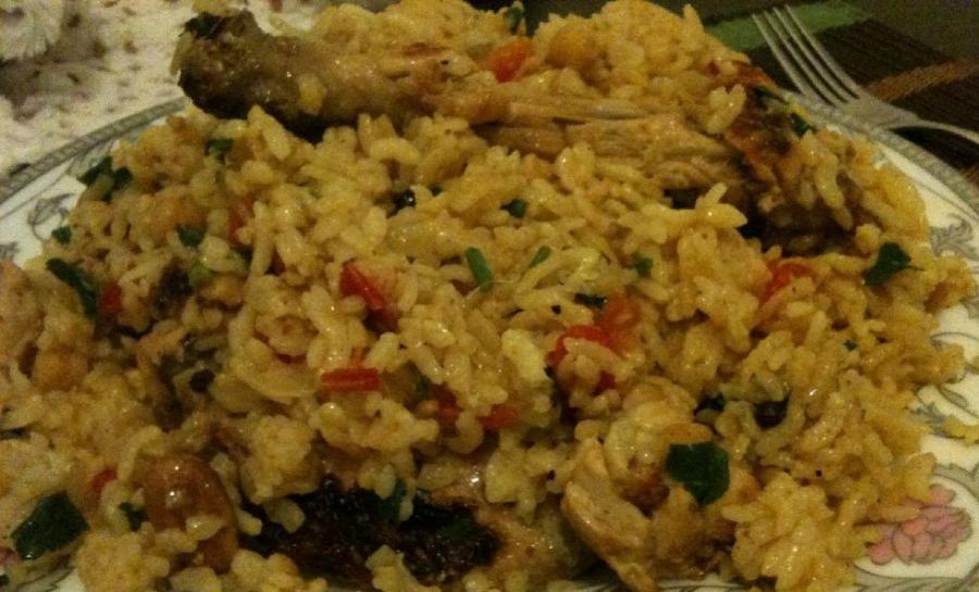 Рис по-восточному с курицей - фото шаг 10