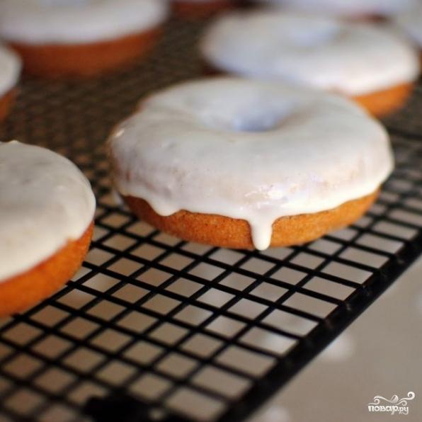 Банановые пончики с грецкими орехами - фото шаг 16