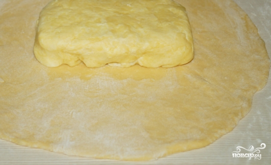 "Слоеное тесто для ""Наполеона"" - фото шаг 2"