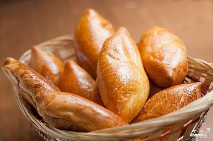 Рецепт Пирожки с картошкой и колбасой