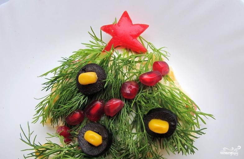 "Салат ""Новогодняя елка"" - фото шаг 5"