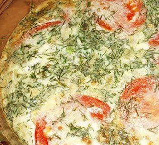 Рецепт Омлет c овощами