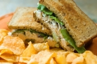 Бутерброды с куриным салатом