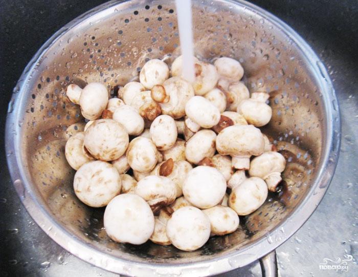 Рецепт Постный плов с грибами