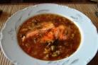 Томатный суп с бараниной