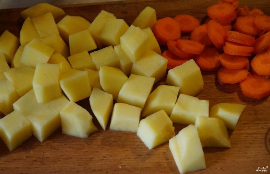 Суп с рисовой лапшой - фото шаг 2