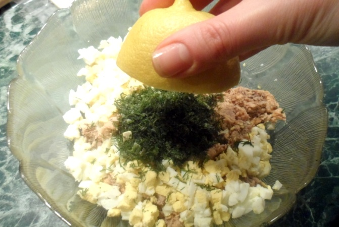 Пирог с горбушей консервированной - фото шаг 5