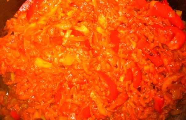 Фасолевый суп на мясном бульоне - фото шаг 8