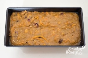 Морковный кекс с орехами - фото шаг 6