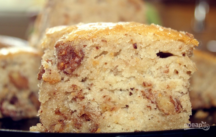 Пирог с грецкими орехами - фото шаг 4
