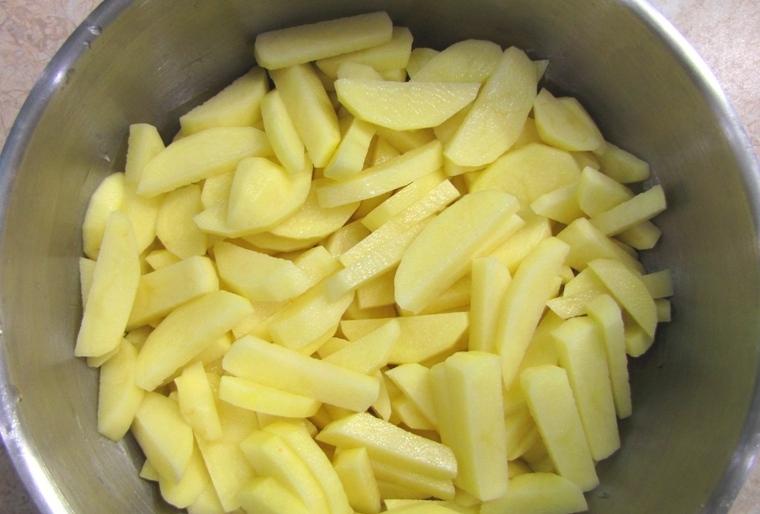 Соус из баранины с картошкой - фото шаг 3