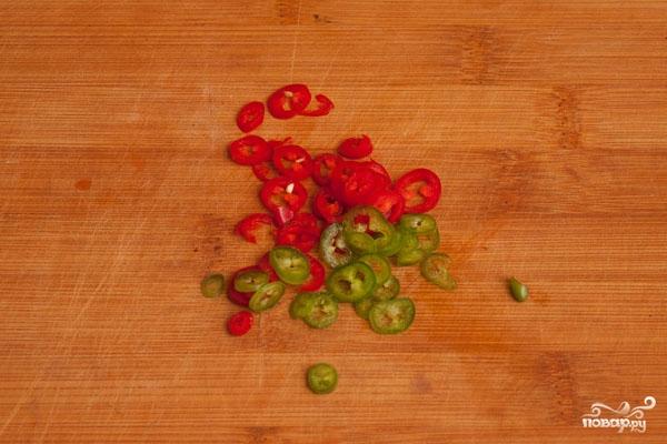 Салат пикантный с говядиной - фото шаг 5