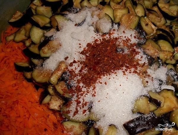 Салат с бобами на зиму - фото шаг 5