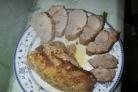 Мясо в фольге в микроволновке