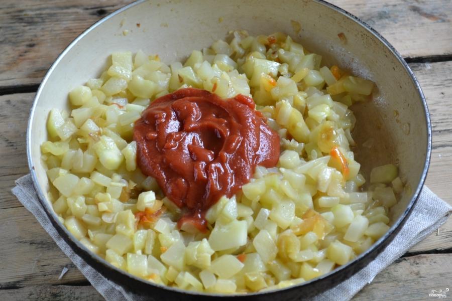 Кабачковая икра с болгарским перцем на зиму - фото шаг 5