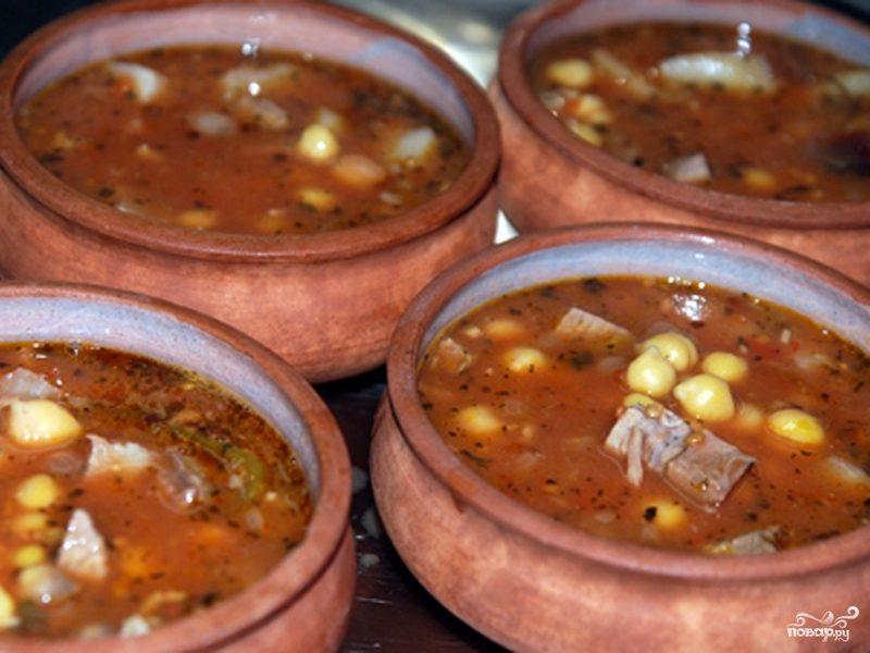 Рецепт Суп пити из баранины
