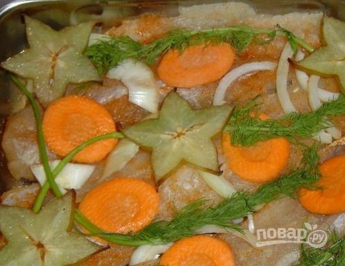 Рыба под соевым соусом - фото шаг 2