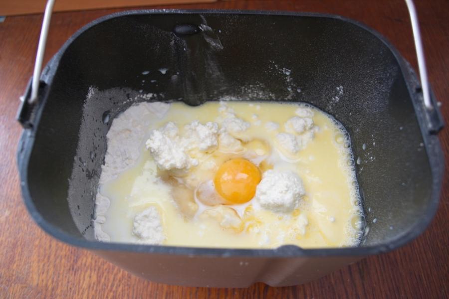 Кулич творожный в хлебопечке - фото шаг 3