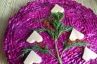 Салат со свининой и сыром