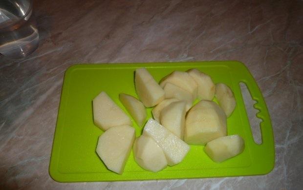 Свиные ребрышки с картошкой - фото шаг 3