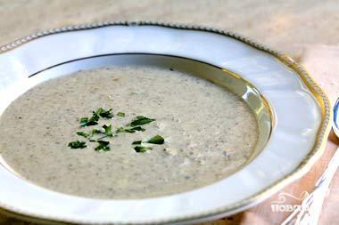 Суп-крем из шампиньонов - фото шаг 5