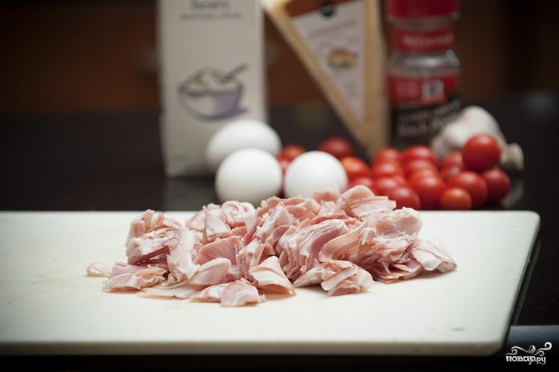 Рецепт Карбонара с беконом
