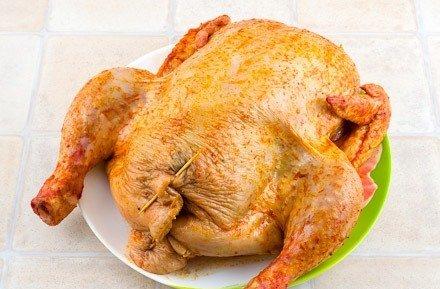 Курица, фаршированная грибами и рисом - фото шаг 9
