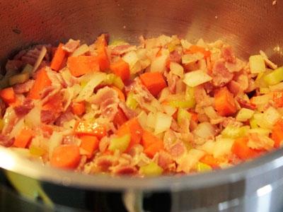 Гороховый суп-пюре в мультиварке - фото шаг 4