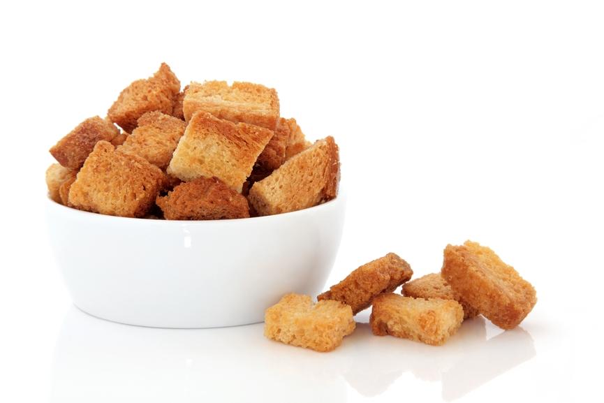 Рецепт Салат с кириешками и кукурузой