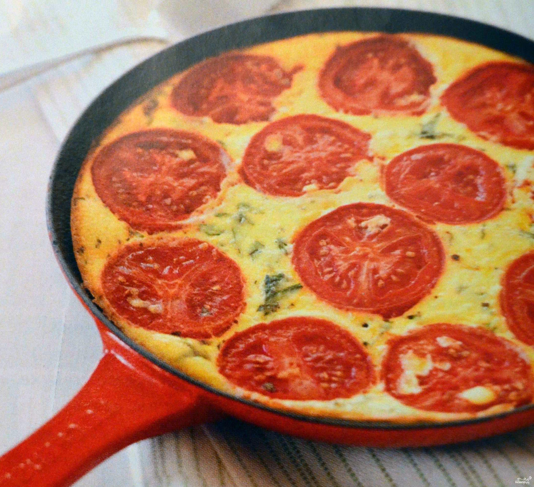 Рецепт Запеканка с картофелем и помидорами