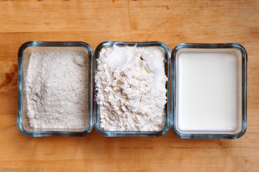 Рецепт Тесто для кыстыбый на молоке