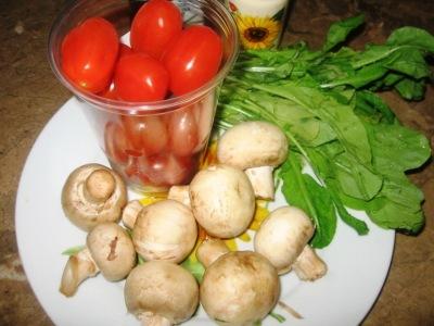 Салат с грибами отварными - фото шаг 1