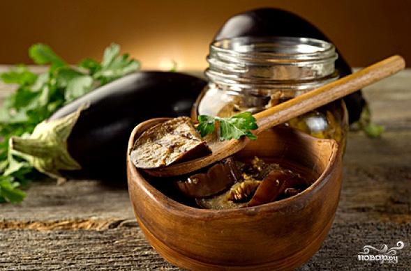 баклажаны консервированные рецепты приготовления с фото