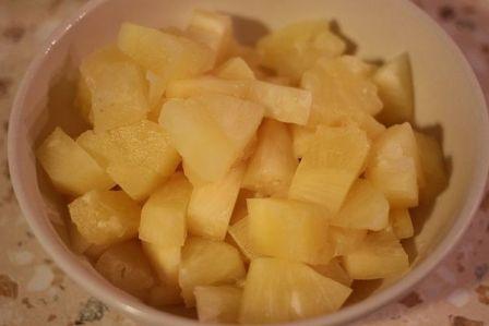Торт с фруктами и желатином - фото шаг 6